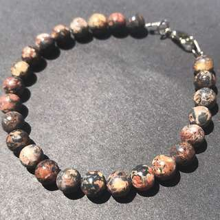 Gemstone beaded bracelets