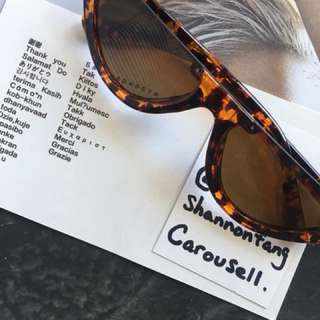Half moon sunnies in leopard