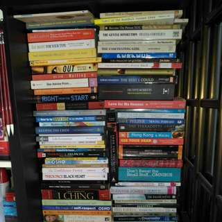 Assorted Books - New age, self help,