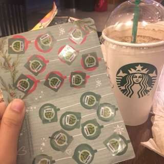 Starbucks planner wth dress