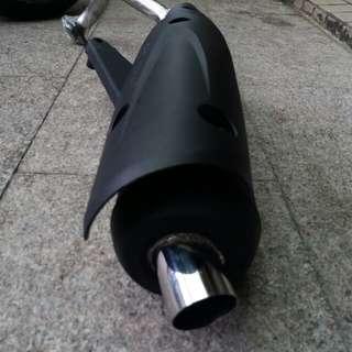 (頂級競技版)新上市 限時特價 黑鐵管口徑特殊加大 勁戰 BWS CUXI G6 戰將 JETS 雷霆