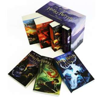 BN Harry Potter Box Set: The Complete Collection Children's Paperback (PO)