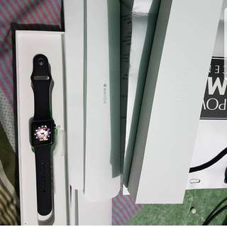apple watch spacegray 38mm