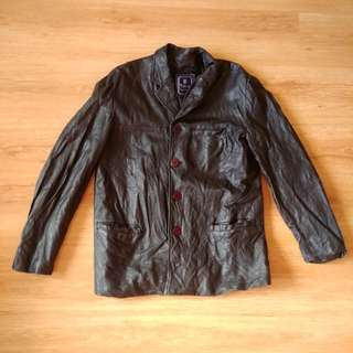 Genuine Leather Jacket (Free Shipping for MM, Last Price)