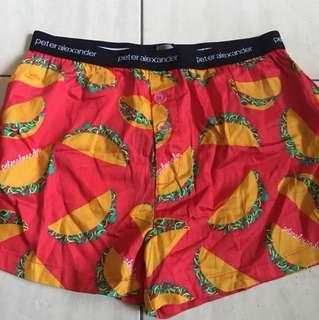 Peter Alexander taco shorts BNWT