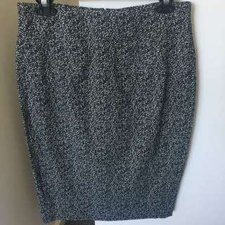 Country Road Speckled Midi skirt