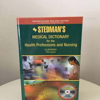 Stedman's Medical Dictionary for the Health Professions and Nursing - Fifth Ed