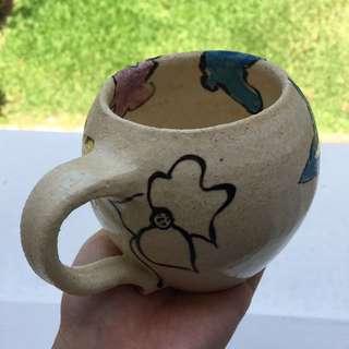 Floral mug