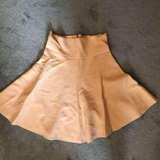 Showpo High waisted skirt - Baby pink colour