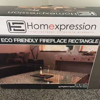 Eco friendly fire place