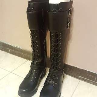 全新MARHORIE個性長靴