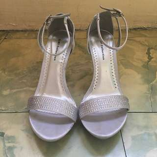 Gibi Silver Shoes