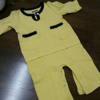 Romper Baju Melayu 0-3m