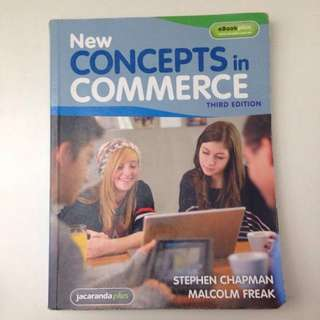New concepts in commerce third edition