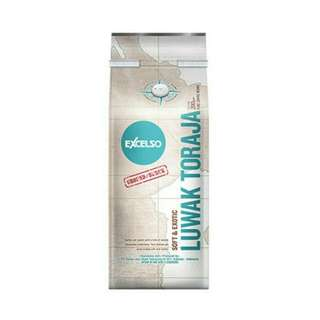 Excelso luwak toraja coffee pouch pack