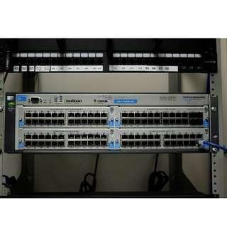 HP Procurve 4204vl Switch