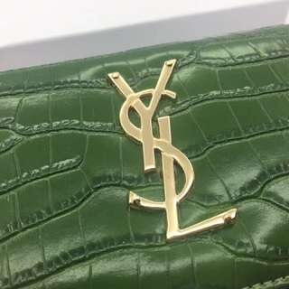YSL Wallet, comes in Black & Red color