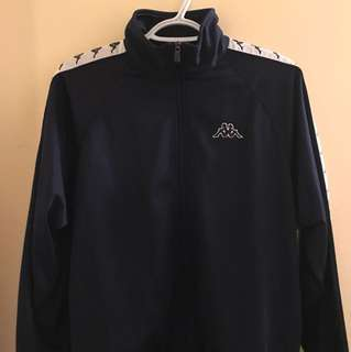 Navy Blue Kappa Track Jacket