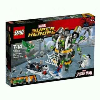Lego Super Heroes Doc Ock's Tentacle Trap 76059