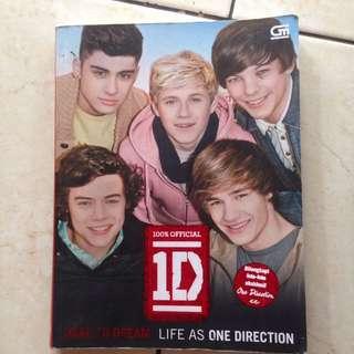 Buku official 1D : Dare to dream