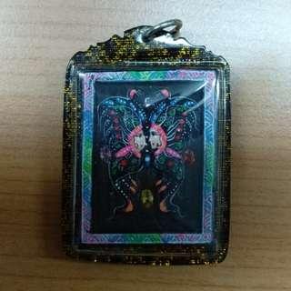 Butterfly Salika amulet by Kruba Krissana
