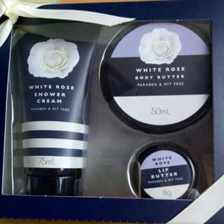 Body Triple Pack White Rose Scented