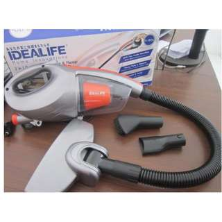 Penghisap Debu 2in1 Vacuum Cleaner Idealife IL-130S - Silver