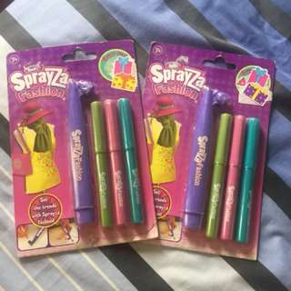 SprayZa Fashion Pens - 2sets