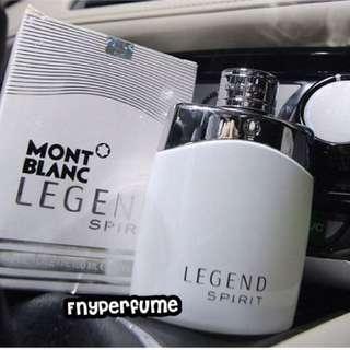 Parfume Mont Blanc Legend spirit 100mL (segel)