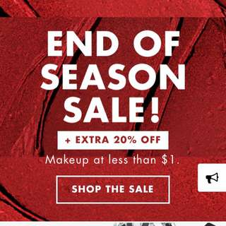 e.l.f Cosmetics Year End Sale‼️