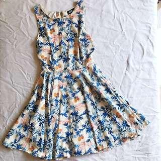 🔸 Dotti Cut-Out Party Dress