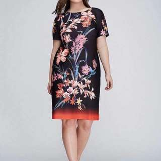 PLUSSIZE DRESS (SO)