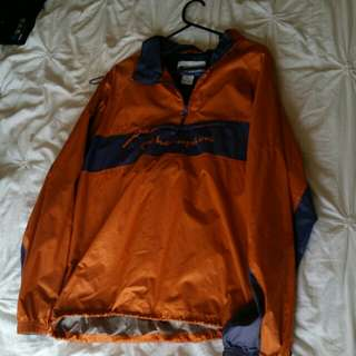 Vintage champion zip-up pullover