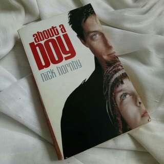 About A Boy, Nick Hornby (English, free ongkir Jakarta)