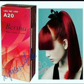 #A20 BERINA RUBY RED COLOUR