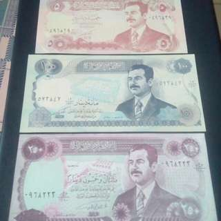 Iraq, Saddam Hussein, 1 set