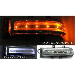 TOYOTA & PERODUA (2 in 1 Day Running Light + Signal Light) Side Mirror LED Lamp