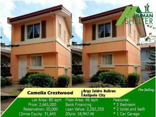 camella homes.Pre selling