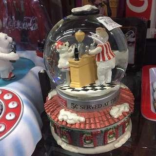 Coca Cola Snow Globe