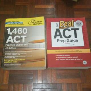 Clearance! ACT prep books
