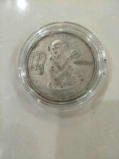 猴子生肖民间币