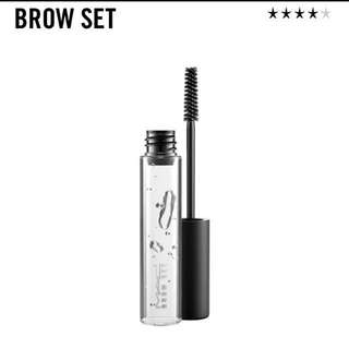 👑 MAC BROW GEL CLEAR