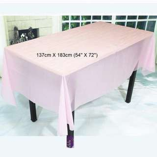 Party Tablecloth (in Pink)
