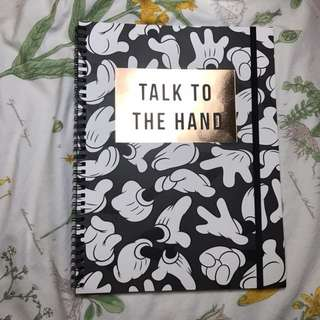 A4 Typo Notebook