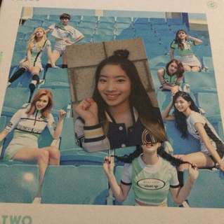 WTT| Twice Page Two Dahyun Photocard
