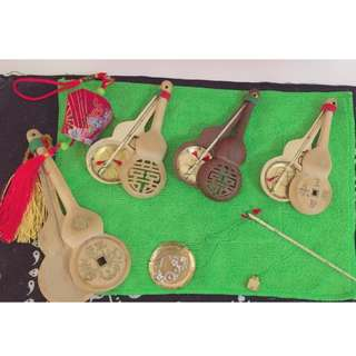 Antique Qing Dynasty called camel bone scale crafts