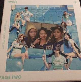 WTT| Twice Page Two Mina Chaeyeon Dahyun Group Photocard