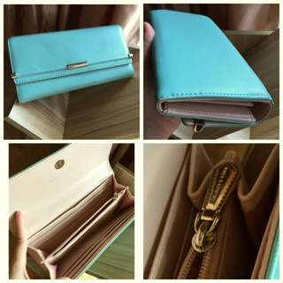 Authentic Tiffany Blue Ck Wallet