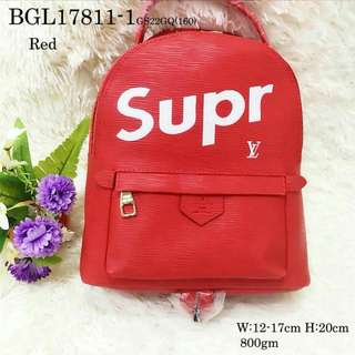LV Supreme back pack mini