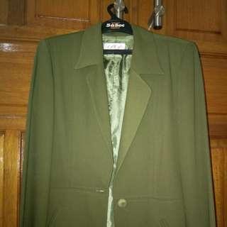 Blazer hijau